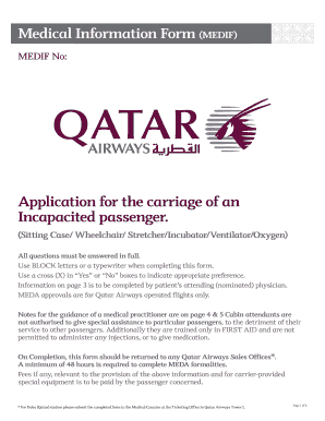 Qatar airways pregnancy medical form - Fill Out and Sign Printable
