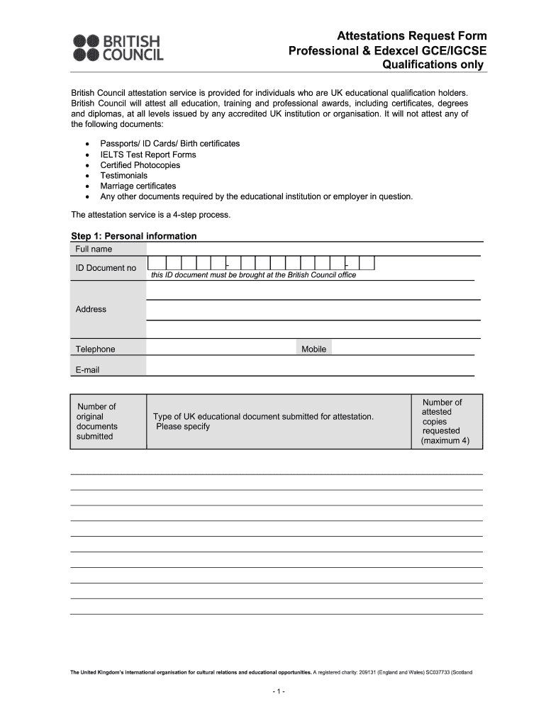 Attestation Form Fill Out And Sign Printable Pdf Template Signnow
