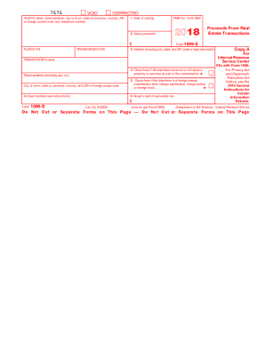 2018 Form 1099 Fill Out And Sign Printable Pdf Template