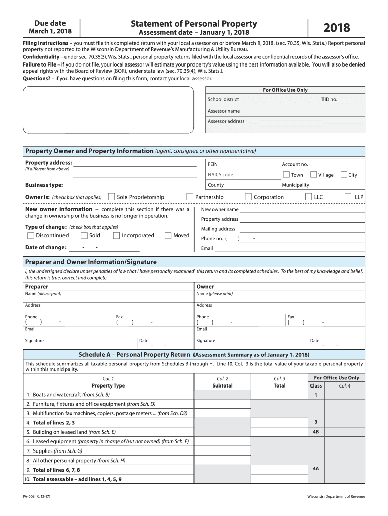 Get And Sign Pa 003  Form 2018-2021