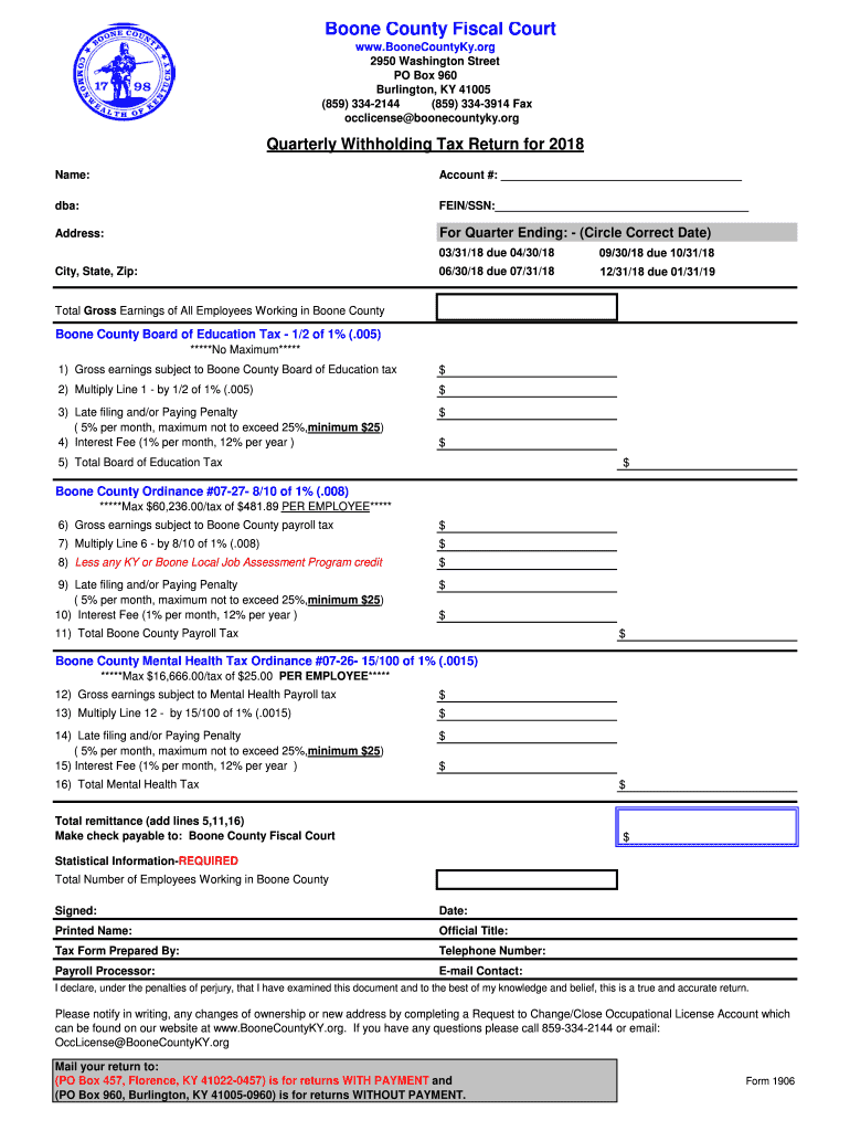 Get And Sign Form 1906 2018-2021