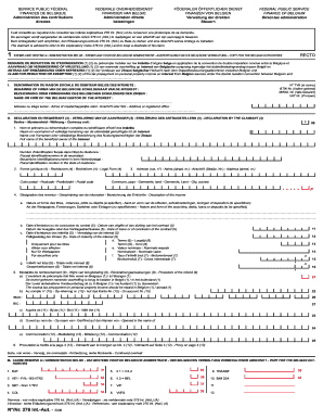 N Nr 276 Int Aut 2008 Belgium Form Fill Out And Sign