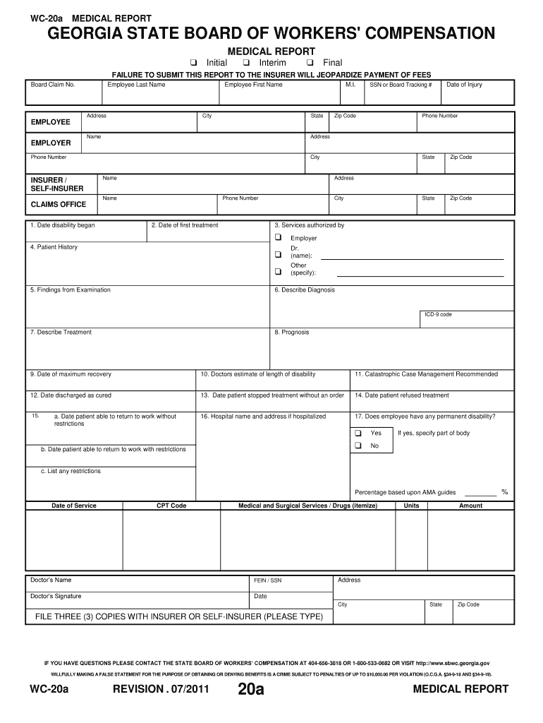 Get And Sign Ga 20a 2011-2021 Form