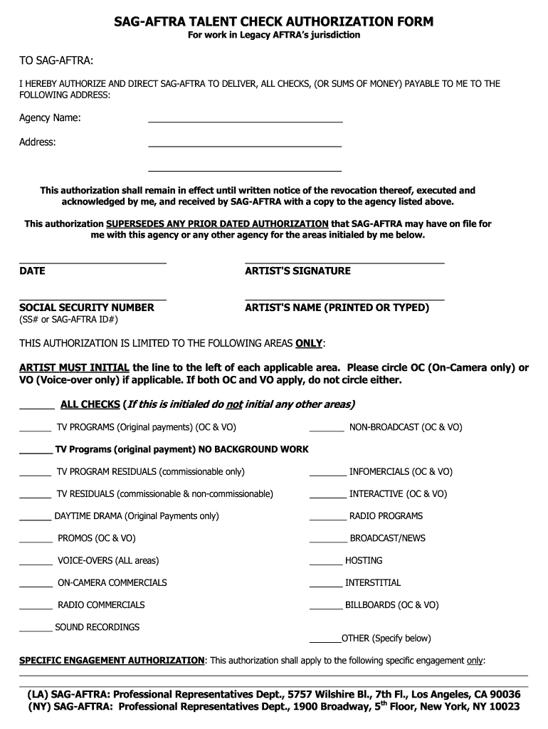 Check Authorization Form Fill Out And Sign Printable Pdf Template Signnow