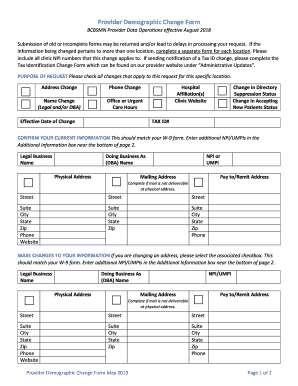Get And Sign Mn Provider Change 2019-2021 Form