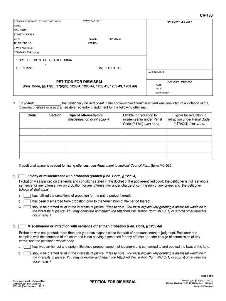 Get And Sign Cr 180 2017-2021 Form