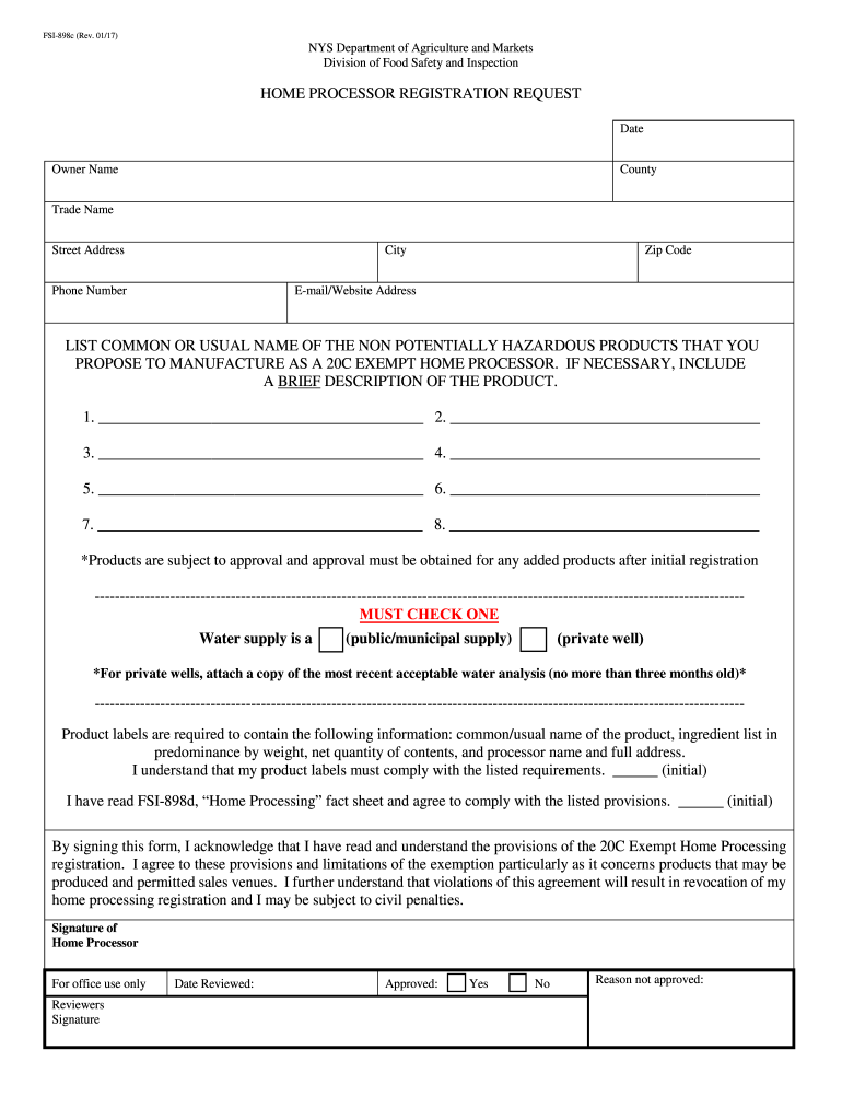 Get And Sign Fsi 898d 2017-2021 Form
