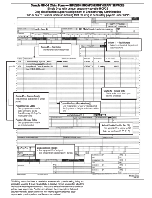free ub 04 form pdf  Ub 7 form sample - Fill Out and Sign Printable PDF Template ...