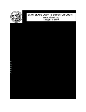 photo about Custody Papers Printable called Amendment of custody kinds stanislaus - Fill Out and Indicator