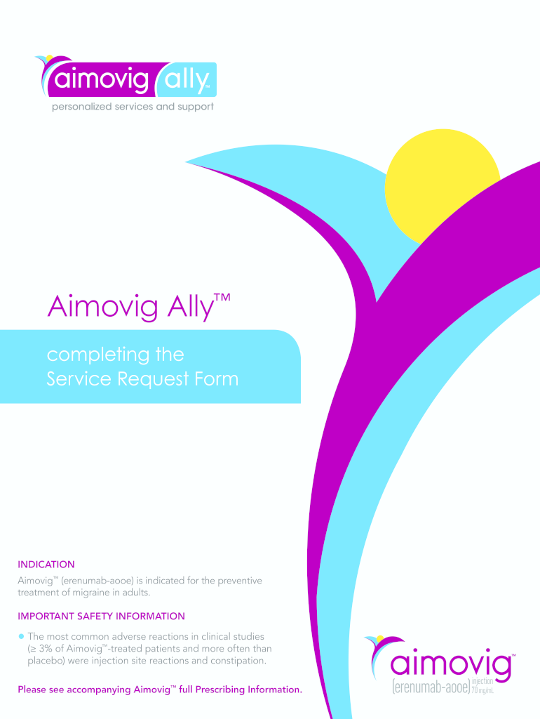 Get And Sign Aimovig Ally Form