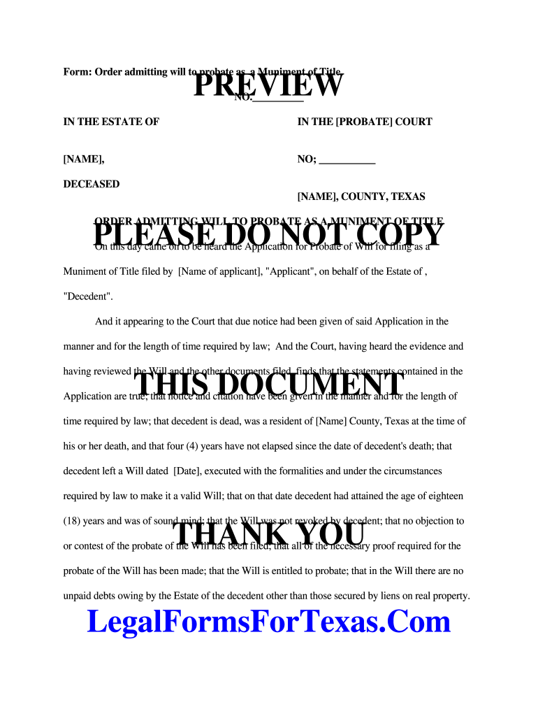 Muniment Of Title Fill Out And Sign Printable Pdf Template Signnow