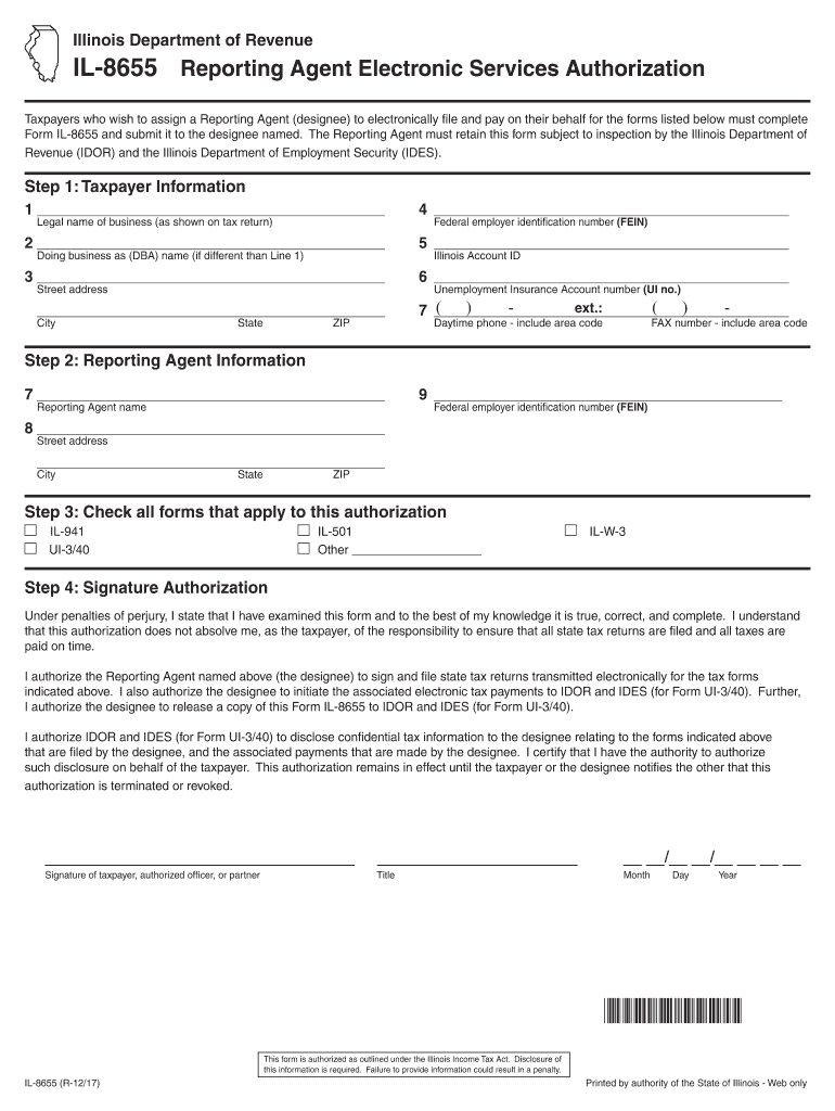 Get And Sign Il 8655 Form 2017-2021