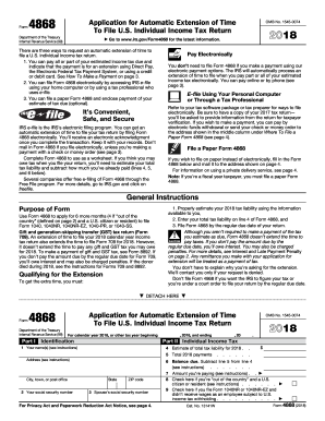 Extension form 2018-2019 - Fill Out and Sign Printable PDF