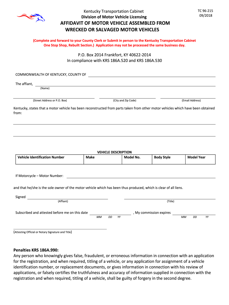Get And Sign Tc 96 215 2018-2021 Form