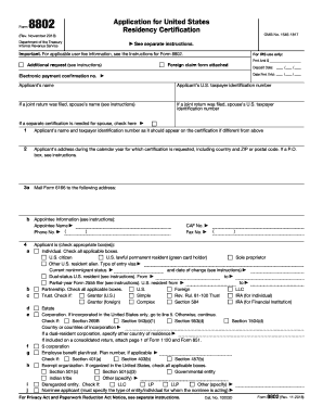 picture relating to Printable 2290 Form identify Sort 8802 2018-2019 - Fill Out and Signal Printable PDF