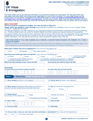 456435057 Visa Application Form Example E Uc on