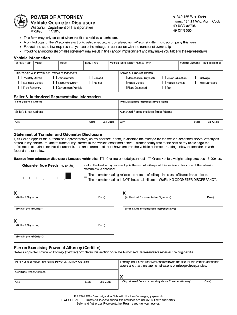 Get And Sign Mv2690 2018-2021 Form