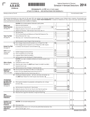 2014 Form 1040 (Schedule D) - IRS gov - Fill Out and Sign Printable