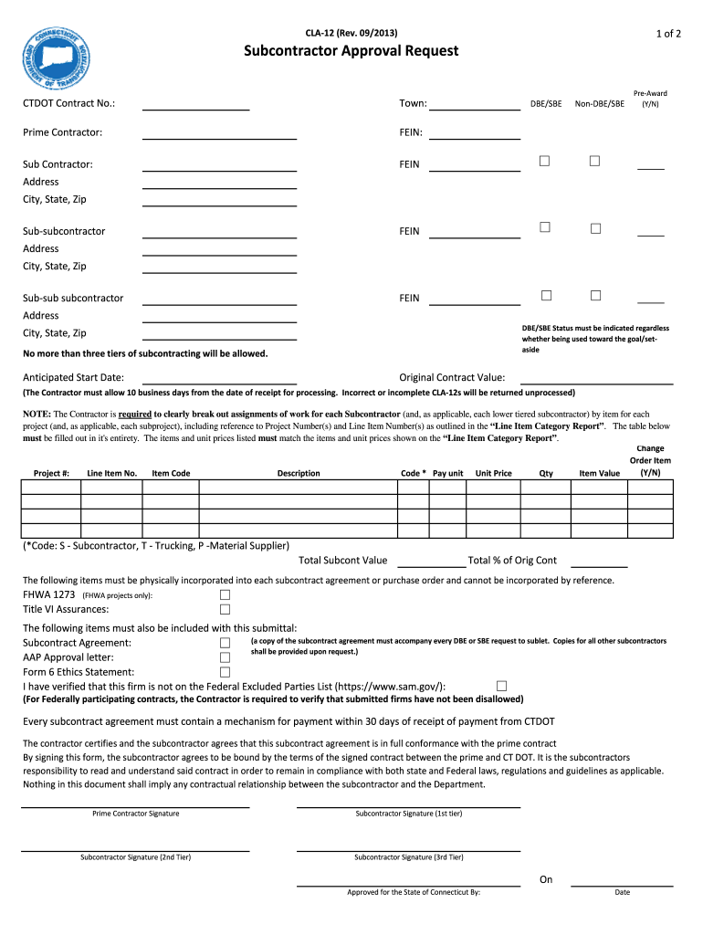 Get And Sign Cla12 2013-2021 Form