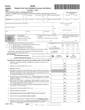 Get And Sign 760py 2018-2019 Form