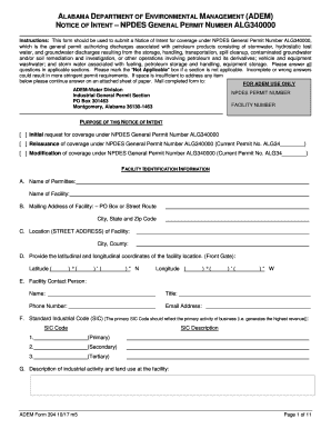 Get And Sign Alabama Adem Forms 2017-2021
