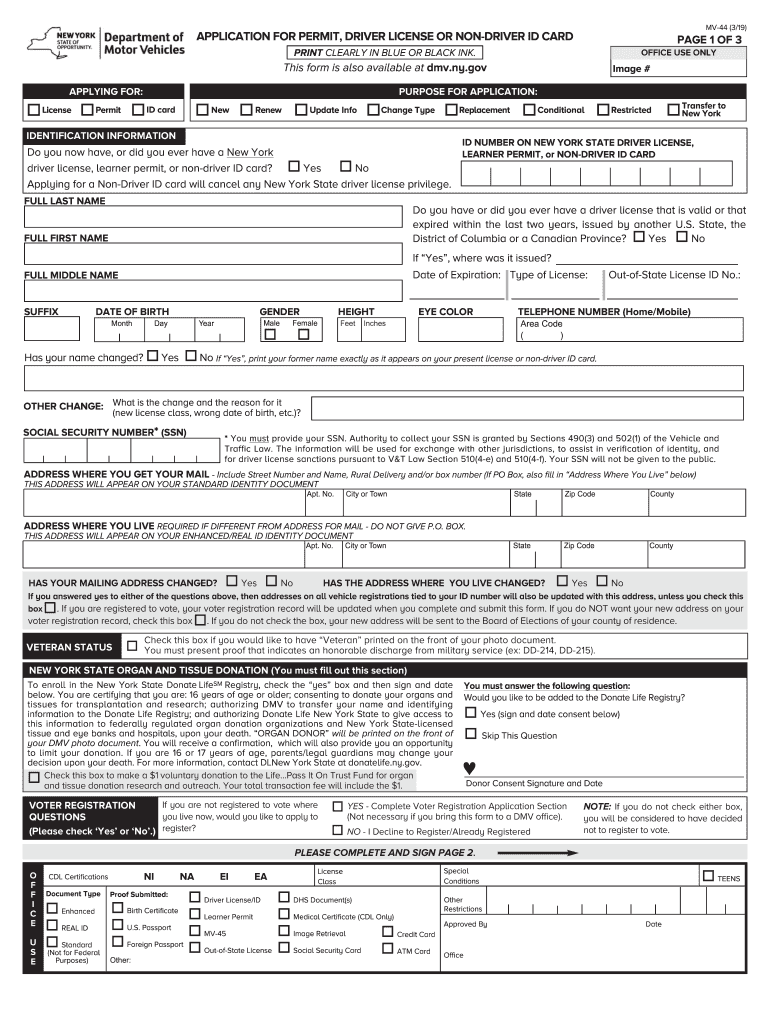 Get And Sign Mv 44 2019-2021 Form