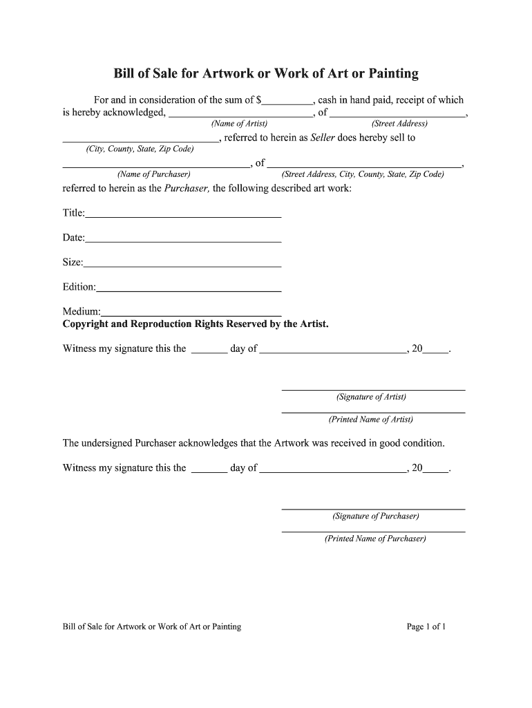 Get And Sign Illinois Motor Vehicle Bill Of Sale Form Templates  Fillable & Printable