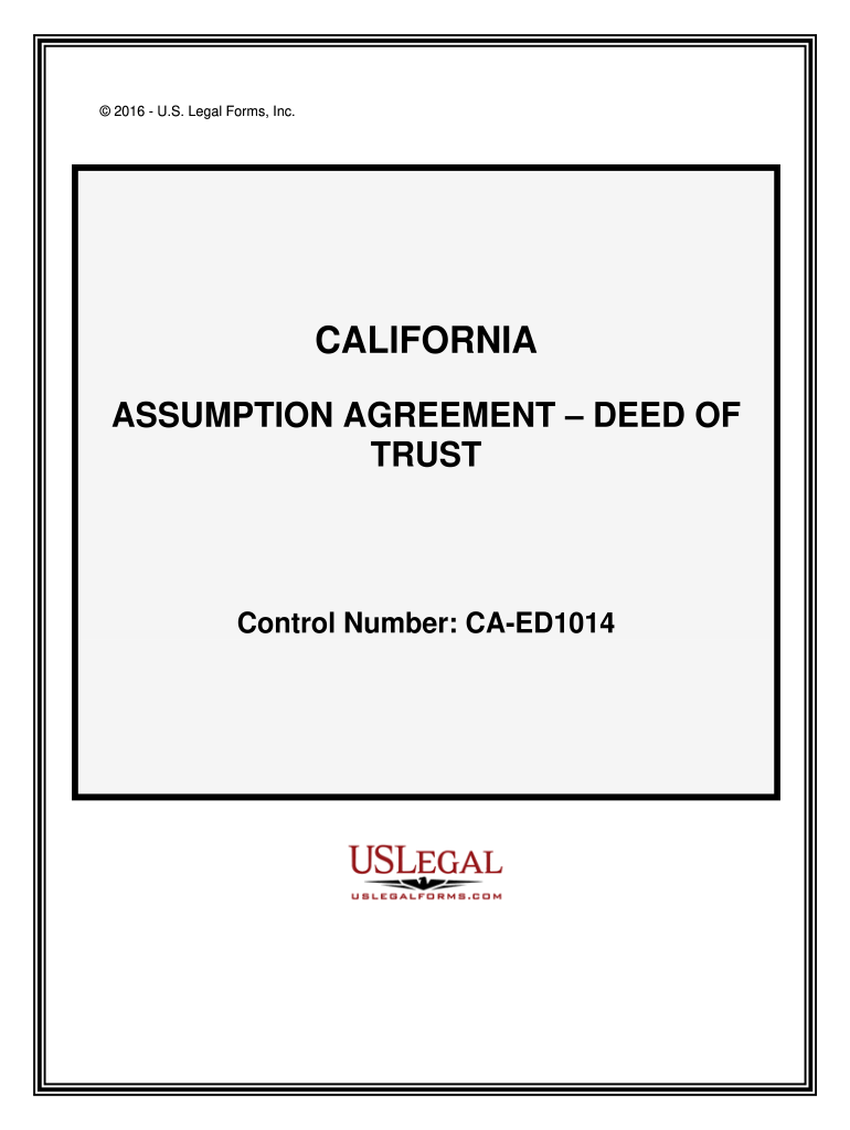 Assumption agreement deed of form