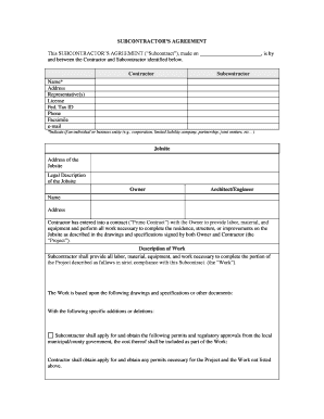 Subcontract sample the federal demonstration partnership form