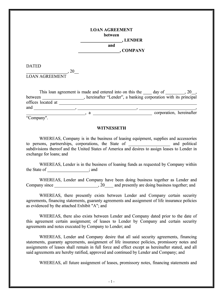 Complete E Sign Loan Agreement Template Free Sample Docsketch With Digital Signature Signnow