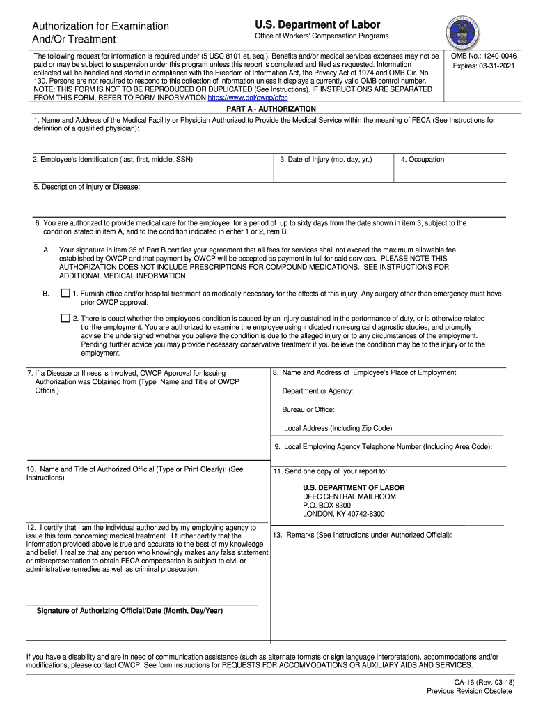 Get And Sign Form Ca 16 2018-2021