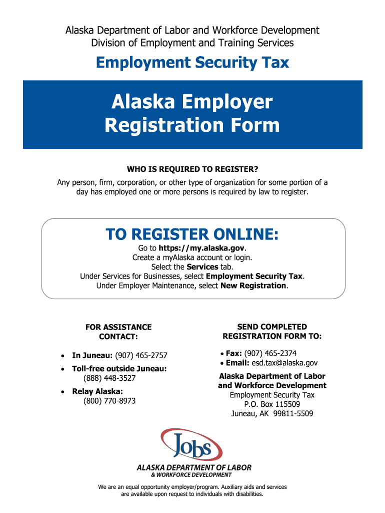 Get And Sign Alaska Employer Form 2019-2021