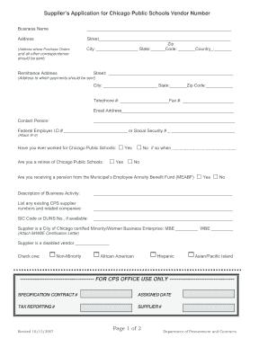 5401544 Vendor Application Form Example Trqxi on