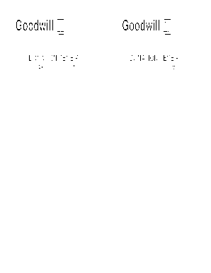 photograph regarding Printable Goodwill Donation Receipt known as Goodwill donation receipt style - Fill Out and Indication Printable