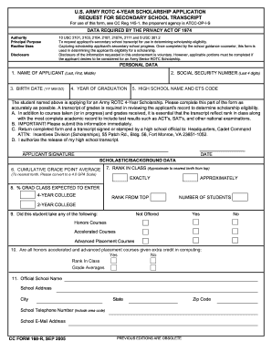 Army Form | Army Application Form Download Fill Out And Sign Printable Pdf