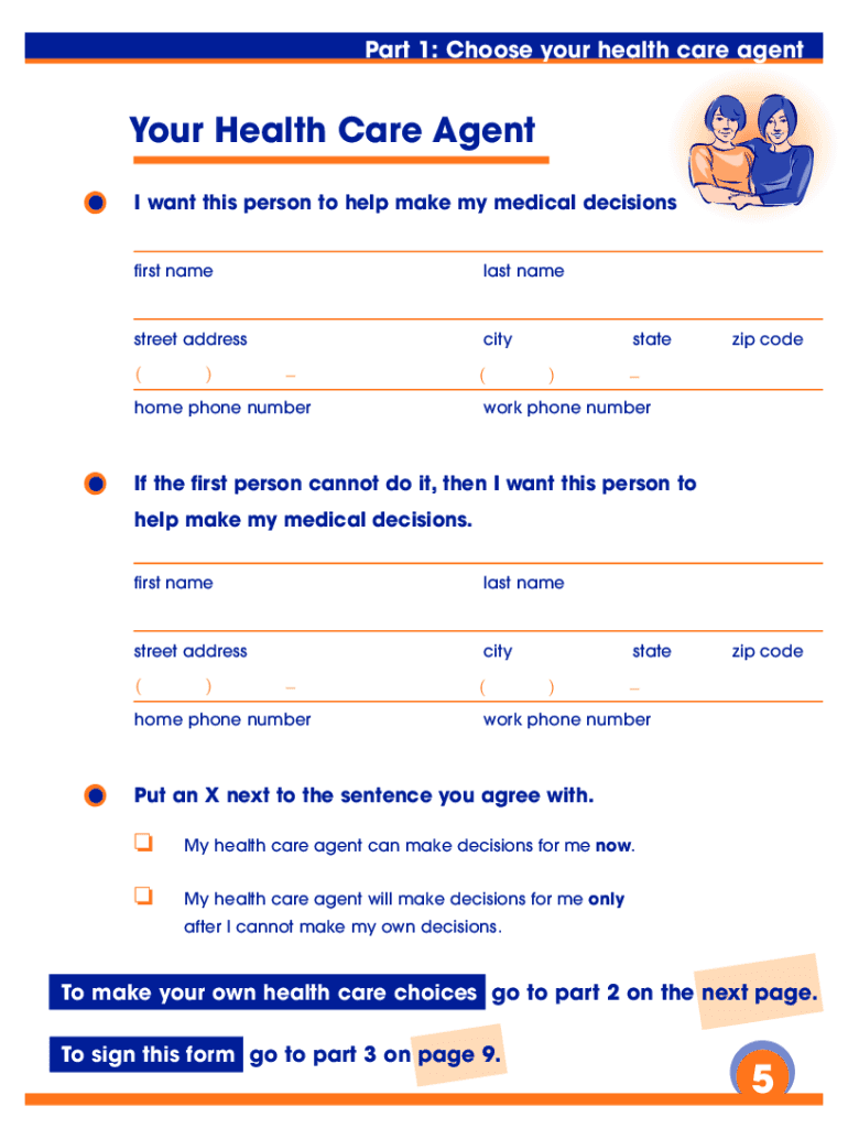 Get And Sign California Advance Health Care Directive Form