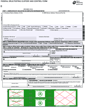 Drug screen fourm form - Fill Out and Sign Printable PDF