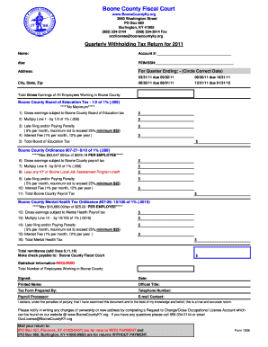 Get And Sign Boone County Fiscal Court Form 1906 2011-2021