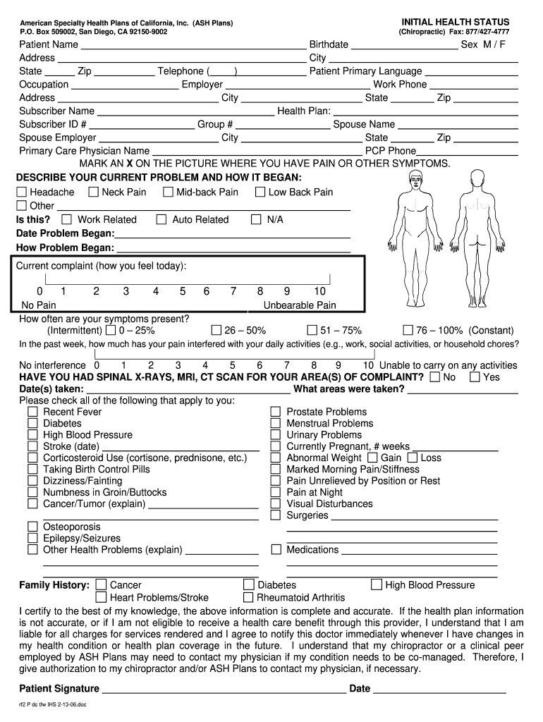 Get And Sign Form Form American Health 2006-2021