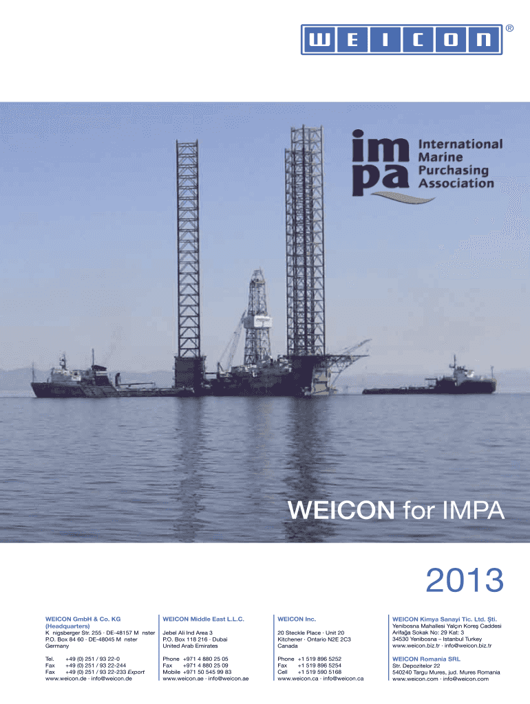Get And Sign Impa Catalogue Pdf Form
