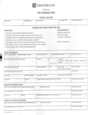 Cedar sinai health associates doctors form - Fill Out and