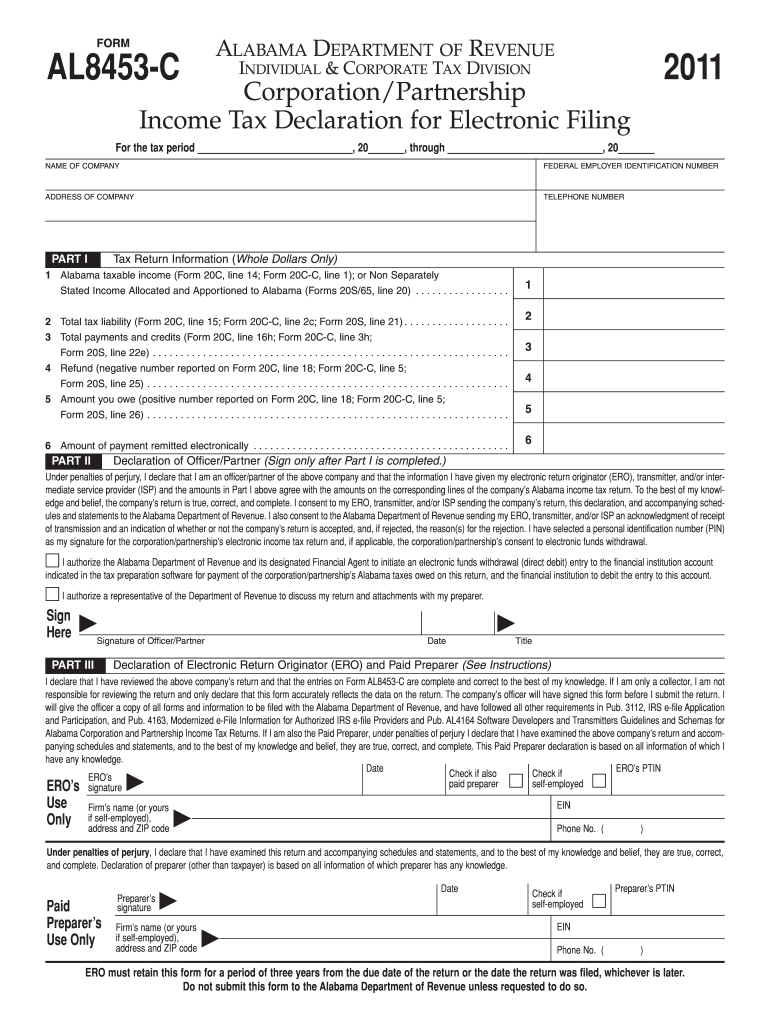 Get And Sign Al 8453 C Form