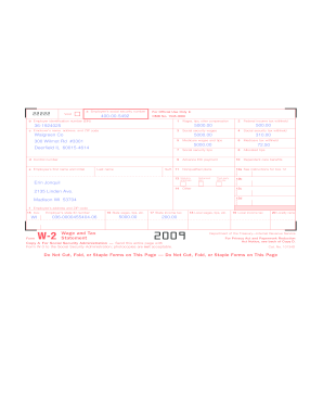 Ein 36 1924025 w2 form - Fill Out and Sign Printable PDF Template