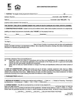 Construction Contract Sample | Filled Construction Contract Form Signnow Fill Out And Sign