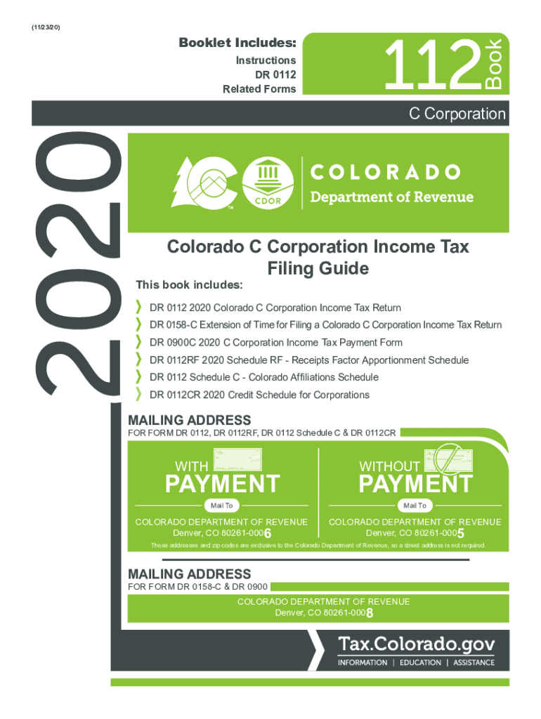 Get And Sign PDF PAYMENT PAYMENT Colorado Department Of Revenue 2020-2021 Form