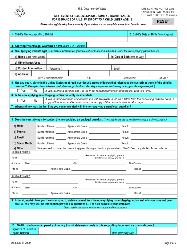 Get And Sign Ds 5525 Form