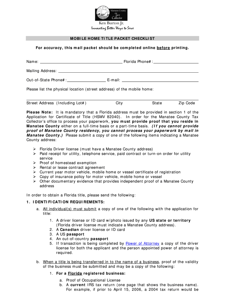 Florida title application pdf - Fill Out and Sign Printable PDF Template |  signNow