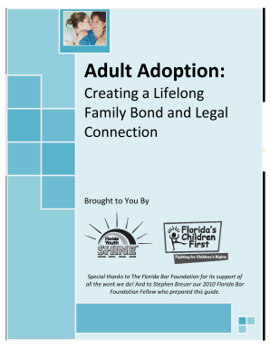 Get And Sign Family Law Adult Adoption In Fl Forms 2011-2021