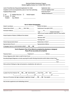 photograph regarding Printable Medicaid Application identified as 3871 maryland medicaid sort - Fill Out and Indication Printable
