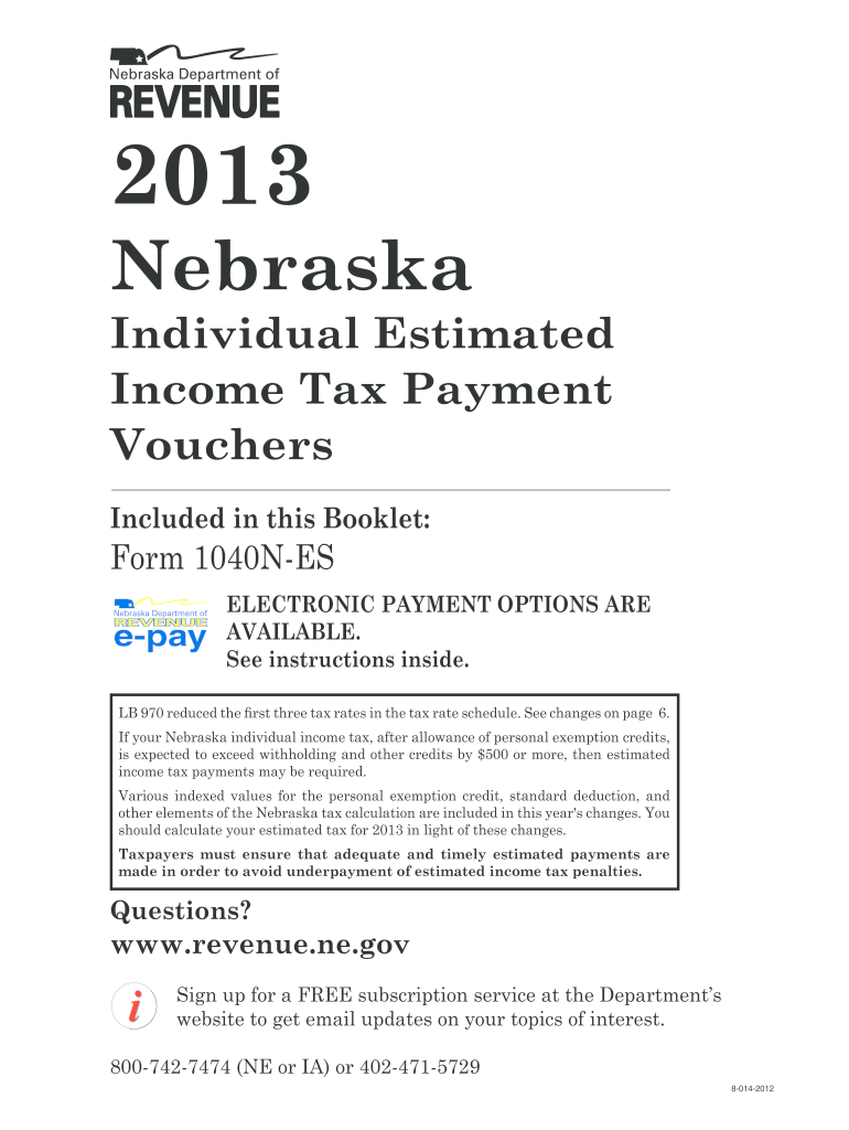 Get And Sign Nebraska Tax Form Fillable 2013-2021